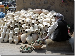 Clay water pots for sale Kandahar