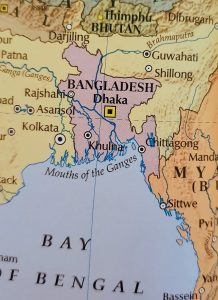 Atlas Map of Bagladesh